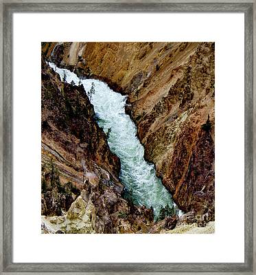 The Yellowstone Framed Print