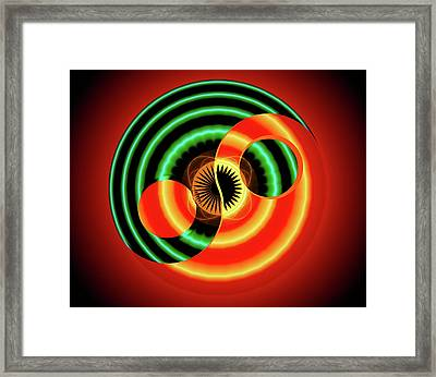 The Yin And The Yang Framed Print