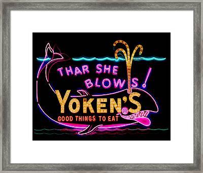 The Yoken's Sign 001 Framed Print