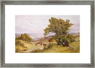 The Young Artist Framed Print