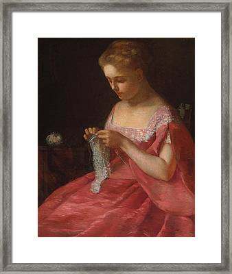 The Young Bride Framed Print