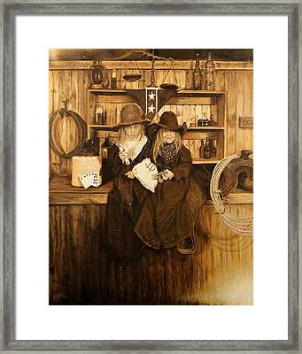 The Younger Kids Framed Print by Traci Goebel
