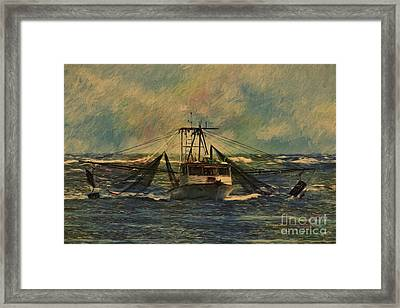 The Zebulon  Framed Print by Deborah Benoit