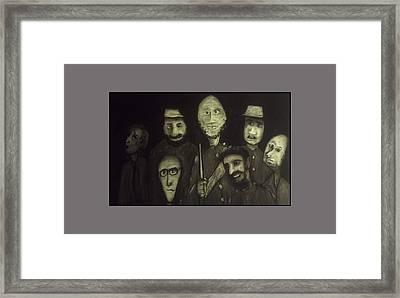 The Zehava Seven Framed Print