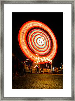 The Zipper Framed Print by Bryan Moore