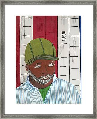 Theaster Gates Framed Print by William Douglas