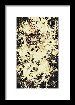 Life Mask Framed Prints