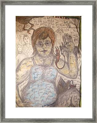 Theatre Of Fears Framed Print