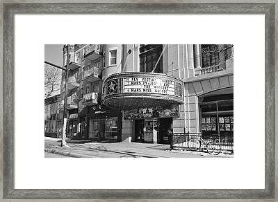 Theatre Rialto Montreal Framed Print