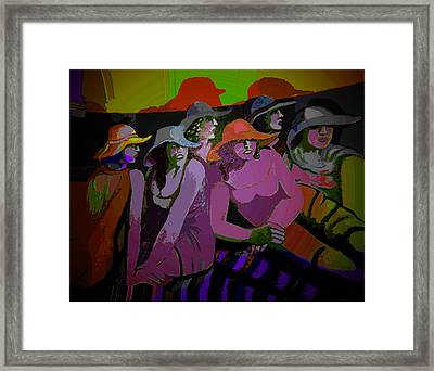 Theatro Framed Print by Noredin Morgan