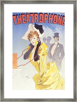 Theatrophone Framed Print