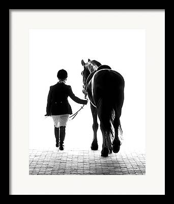 Horse Rider Framed Prints
