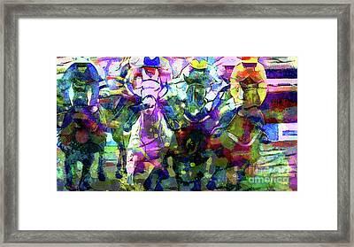 Their Off Framed Print by Jon Neidert