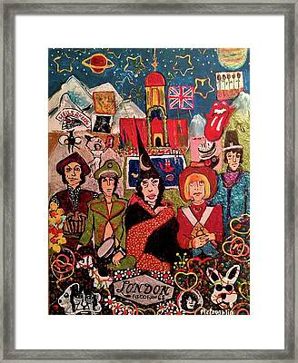 Their Satanic Majesties Request Framed Print