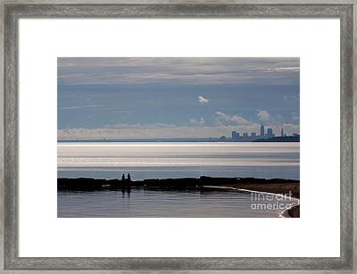 Then He Told Her Framed Print