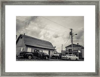 Then There Were 3  Framed Print by Off The Beaten Path Photography - Andrew Alexander