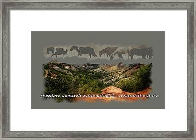 Theodore Roosevelt National Park Framed Print
