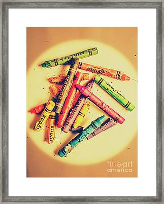 Theory Of Art And Rebellion Framed Print by Jorgo Photography - Wall Art Gallery