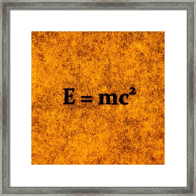 Theory Of Relativity 2 Framed Print