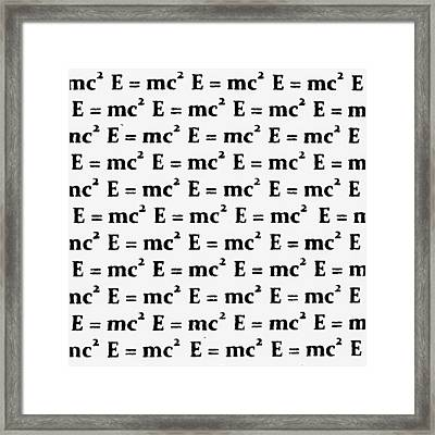 Theory Of Relativity B 2 Framed Print