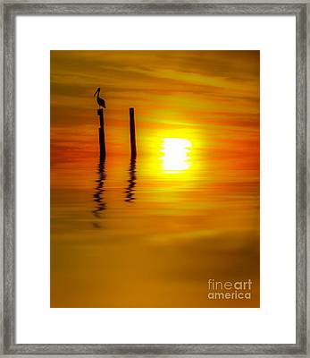 There Are Moments Framed Print