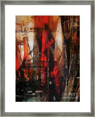 There Is A Crack In Everything Framed Print