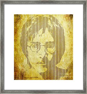 Framed Print featuring the digital art There Is A Magi In Imagine by Laura Brightwood