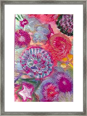 There Is A Whole Lot To See At The Bottom Of The Sea Framed Print by Anne-Elizabeth Whiteway