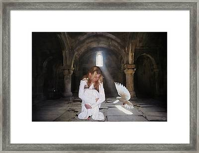 There Is Always Hope Framed Print by Gun Legler