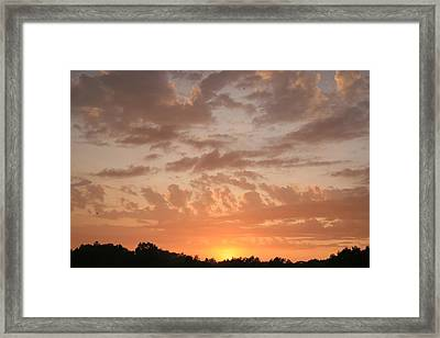 There Is Coming A Day Framed Print by Robert Pearson