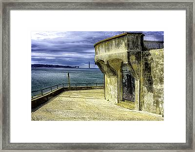 There Is No Escape Framed Print by Camille Lopez