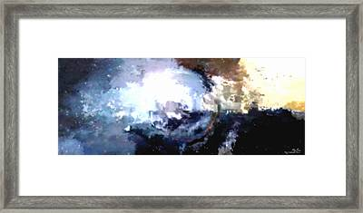 There Is No Planet B Framed Print