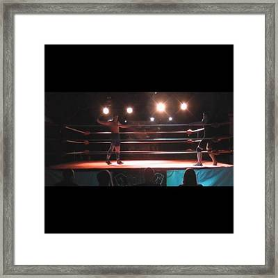 there Is No Pro Wrestling In Ukraine Framed Print