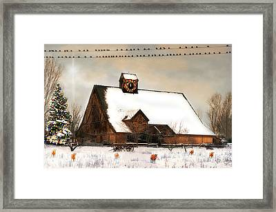 There Is No Room In The Inn Number Two Framed Print