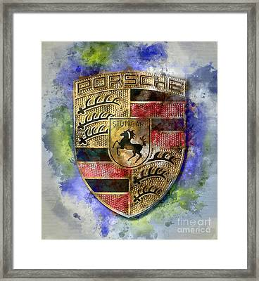 There Is No Substitute Framed Print