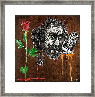 There Is Nothing To Mourn About Death Anymore Than There Is To Mourn About The Growing Of A Flower Framed Print