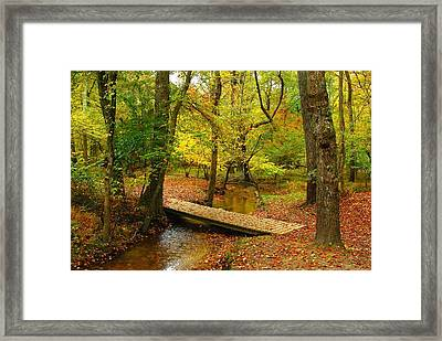 There Is Peace - Allaire State Park Framed Print