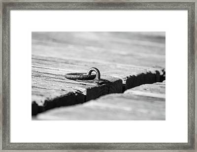 Framed Print featuring the photograph There by Karol Livote