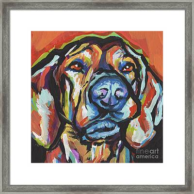 There Must Be A Plott Framed Print by Lea