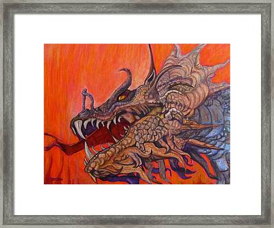 There Once Were Dragons Framed Print