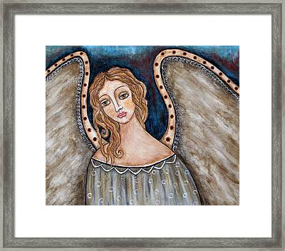 There Framed Print by Rain Ririn