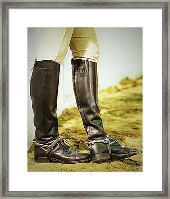 Theres Something About Horses Framed Print