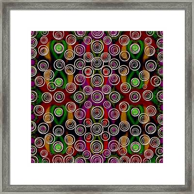 There The Faeries  Live Framed Print