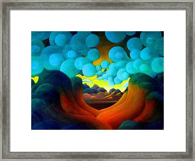 Framed Print featuring the painting There Was Magic In The Air by Richard Dennis