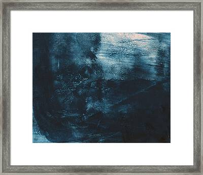 There When I Need You- Abstract Art By Linda Woods Framed Print by Linda Woods