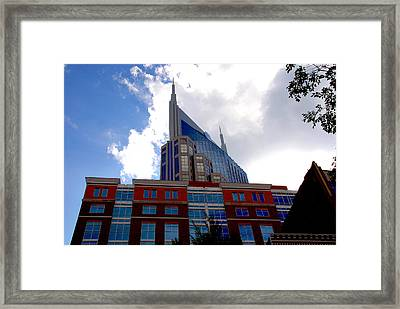 There Where Modern And Old Architecture Meet Framed Print