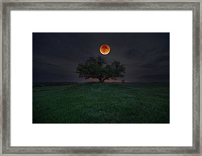 There Will Be Blood Framed Print by Aaron J Groen