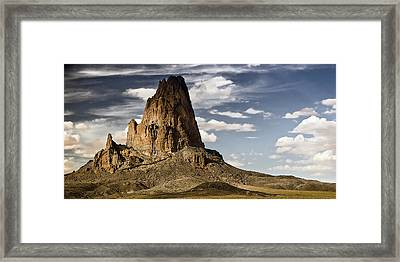 Theres A Killer On The Road Framed Print by Mike McMurray