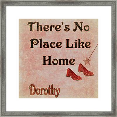 There's No Place Like Home Framed Print by Dan Sproul