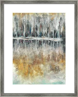 Theres Two Sides To Everything Framed Print by Frances Marino